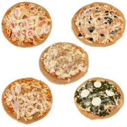 Pack 5 Pizzas Proteícas Fitness